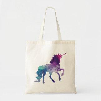 Tote Bag Licorne caracolante scintillante magique