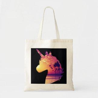 Tote Bag Licorne de coucher du soleil