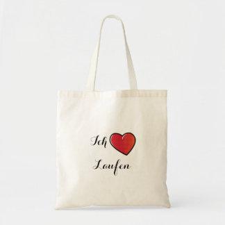 Tote Bag Liebe Laufen - fonctionnement d'Ich d'amour d'I