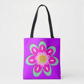 Tote Bag Lilas floral