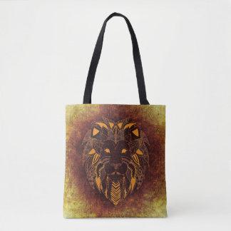Tote Bag Lion artistique frais