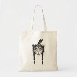 Tote Bag Lion de guerrier