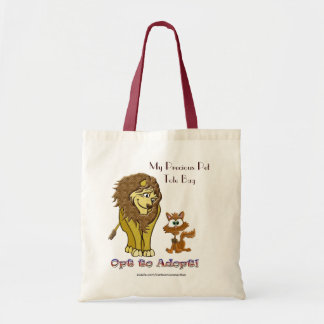 Tote Bag Lion et bande dessinée de Kitty