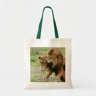 Tote Bag Lion et lionne