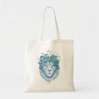 Tote Bag Lion floral