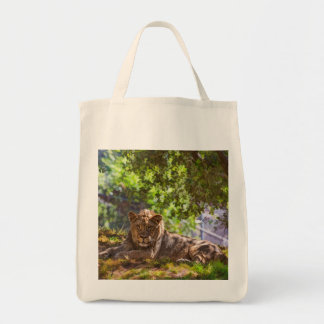 TOTE BAG LION MAJESTUEUX