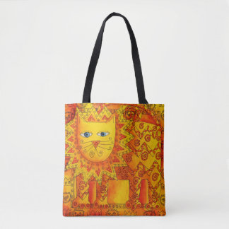 Tote Bag Lion modelé