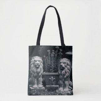 Tote Bag Lions de jardin