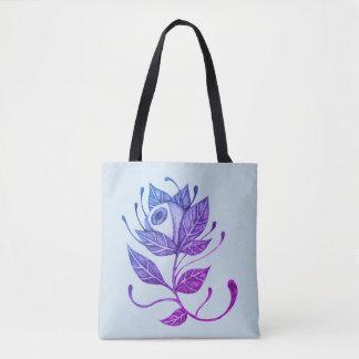Tote Bag L'oeil vous voient Fourre-tout botanique