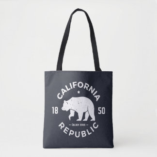 Tote Bag Logo | de la Californie le Golden State 2