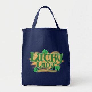 Tote Bag Madame chanceuse Grn Bags