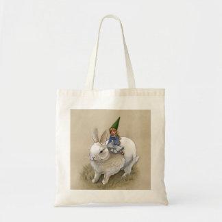 Tote Bag Madame Gnome et lapin