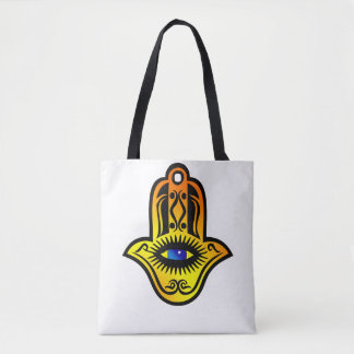 Tote Bag main d'oeil