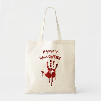 Tote Bag Main sanglante de Halloween