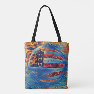 Tote Bag Maintenez le patriotisme fort