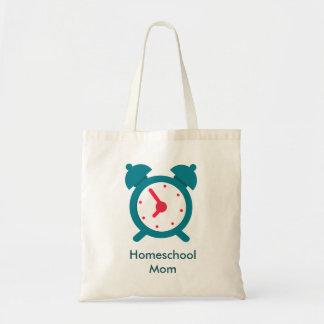 Tote Bag Maman à la maison d'école de réveil