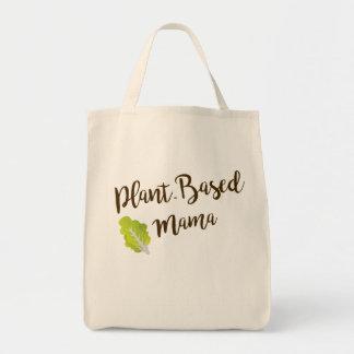 Tote Bag Maman Basée sur Plante Grocery Fourre-tout
