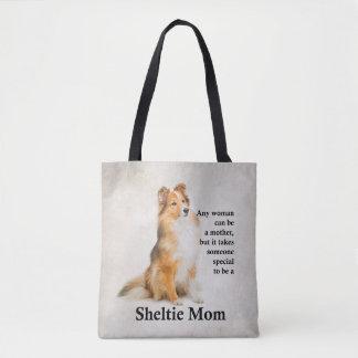 Tote Bag Maman Fourre-tout de Sheltie
