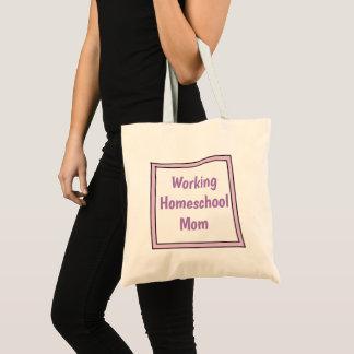 Tote Bag Maman travaillante de Homeschool