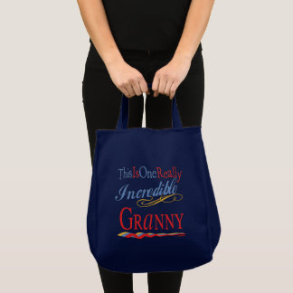 Tote Bag Mamie incroyable