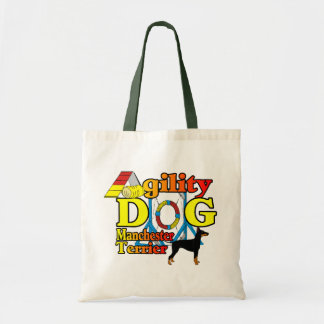 Tote Bag Manchester_Terrier_Agility