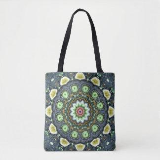 Tote Bag Mandala de chaux de citron