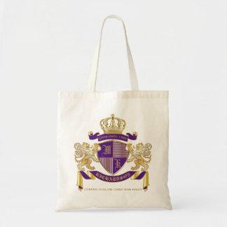 Tote Bag Manteau de bouclier d'or de lion d'emblème de