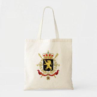 Tote Bag Manteau d'emblème de la Belgique des bras -