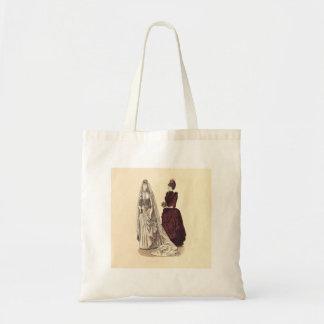 Tote Bag Mariage antique