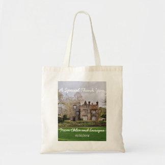 Tote Bag Mariage personnalisé beau vieux par bâtiment