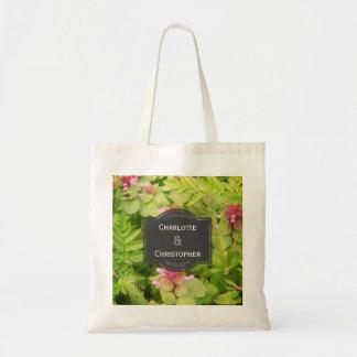 Tote Bag Mariage personnalisé mignon de fleur sauvage