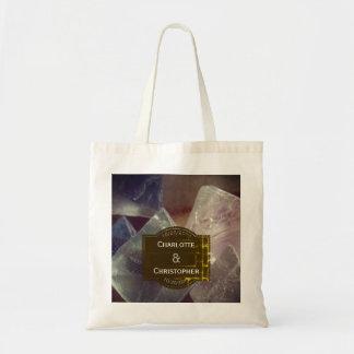 Tote Bag Mariage personnalisé par pierre gemme de fluorine