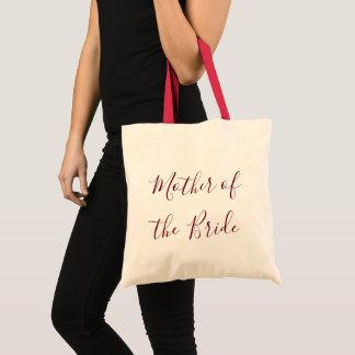 Tote Bag Mère du cadeau de jeune mariée