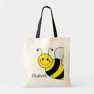 Tote Bag Mignon gaffez l'abeille personnalisée