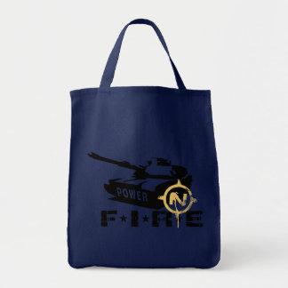 Tote Bag Militaires Canon de puissance de feu