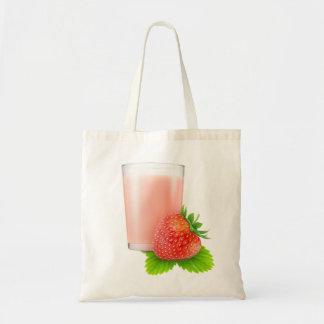 Tote Bag Milkshake de fraise