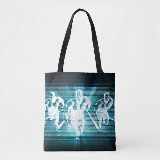 Tote Bag Mobilité d'entreprise et un concept de technologie