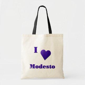 Tote Bag Modesto -- Bleu de minuit