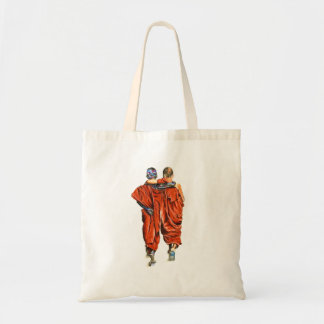 Tote Bag Moines bouddhistes