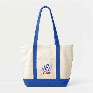 Tote Bag Monogramme Fourre-tout de lions de JES