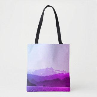 Tote Bag Montagnes pourpres Fourre-tout