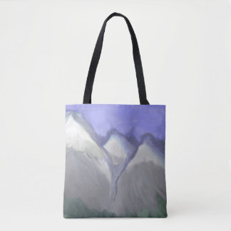 Tote Bag Montagnes rocheuses du Colorado (aquarelle