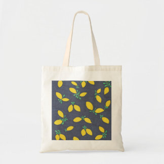 Tote Bag Motif d'art de nourriture de baisses de citron