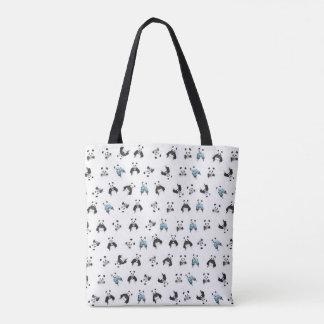 Tote Bag Motif de panda