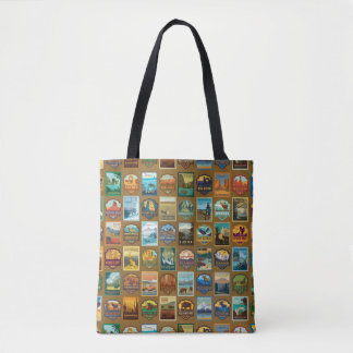 Tote Bag Motif de parcs nationaux