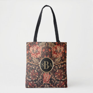 Tote Bag Motif floral de chèvrefeuille de William Morris
