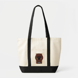 Tote Bag Motif tribal de tête de panthère de la panthère