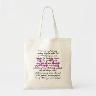 Tote Bag Mots pour Nana