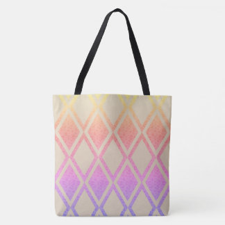 TOTE BAG NACRÉ-FLORAL-DIAMANT-EMBALLAGES