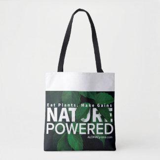 Tote Bag Nature actionnée. Mangez les plantes. Faites les